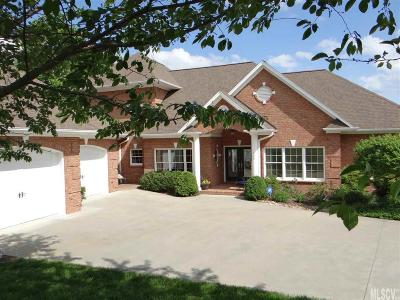 Hickory Single Family Home For Sale: 208 Players Ridge Rd