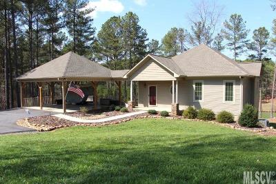 Caldwell County Single Family Home For Sale: 5017 Harbor View Dr E