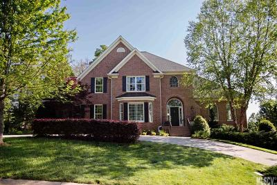 Hickory Single Family Home For Sale: 51 Players Ridge Rd