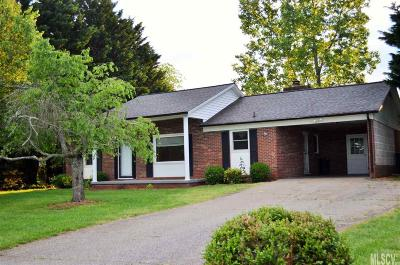 Alexander County, Caldwell County, Ashe County, Avery County, Watauga County, Burke County Single Family Home For Sale: 71 Davidson Ct