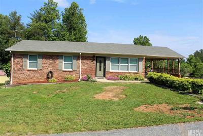 Caldwell County Single Family Home For Sale: 3437 Pinehurst Acrs