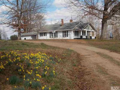 Caldwell County Single Family Home For Sale: 711 Pine Mountain Rd