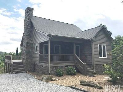 Ashe County, Avery County, Burke County, Alexander County, Caldwell County, Watauga County Single Family Home For Sale: 5076 Bear Run Rd