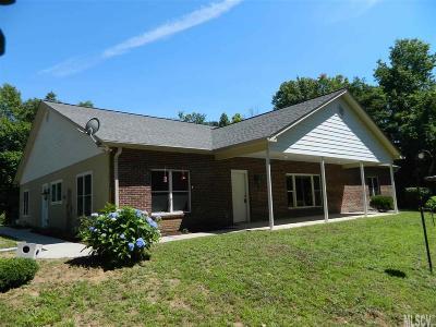 Caldwell County Single Family Home For Sale: 3496 Morganton Blvd