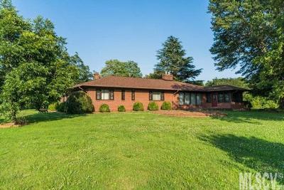 Newton Single Family Home For Sale: 2500 Startown Rd