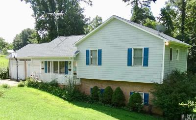 Caldwell County, Alexander County, Watauga County, Avery County, Ashe County, Burke County Single Family Home For Sale: 5 Cline Dr