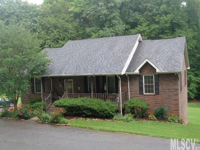 Alexander County, Caldwell County, Ashe County, Avery County, Watauga County, Burke County Single Family Home For Sale: 245 Asheville St