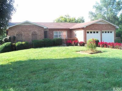 Caldwell County Single Family Home For Sale: 1597 Union Grove Rd