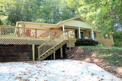 Caldwell County, Alexander County, Watauga County, Avery County, Ashe County, Burke County Single Family Home For Sale: 1825 Cline Pl