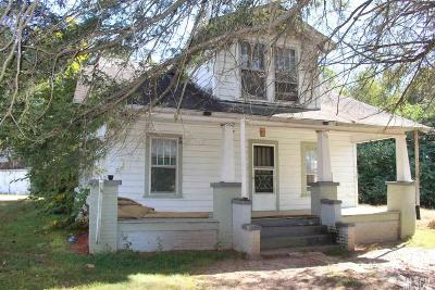 Caldwell County, Alexander County, Watauga County, Ashe County, Avery County, Burke County Single Family Home For Sale: 291 McCrary Pl