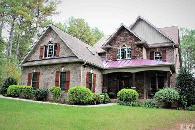 Caldwell County Single Family Home For Sale: 5542 Bridgewater Dr