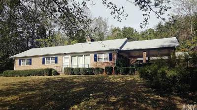 Caldwell County Single Family Home For Sale: 4119 Wilkesboro Blvd