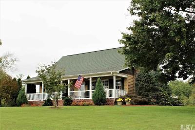 Lenoir Single Family Home For Sale: 4234 Suzuki Tr