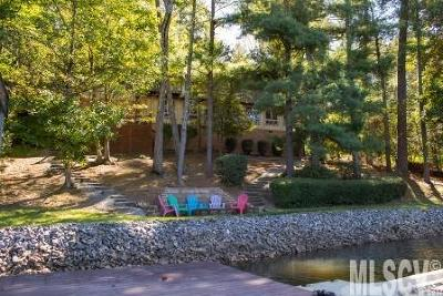 Alexander County, Ashe County, Avery County, Burke County, Caldwell County, Watauga County Single Family Home For Sale: 60 Sigmon Drum Rd