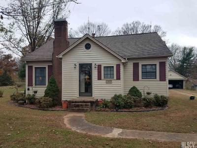 Caldwell County Single Family Home Back On Market: 2507 Grandview Cir