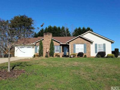 Caldwell County, Alexander County, Watauga County, Avery County, Ashe County, Burke County Single Family Home New Listing: 38 Grandview St