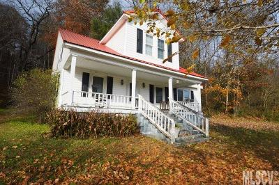 Caldwell County Single Family Home For Sale: 3846 Collettsville Rd