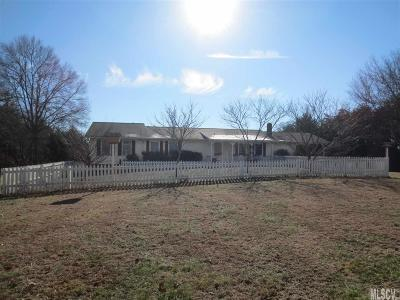 Alexander County, Ashe County, Avery County, Burke County, Caldwell County, Watauga County Single Family Home For Sale: 1207 N Catawba Church Ave Ext