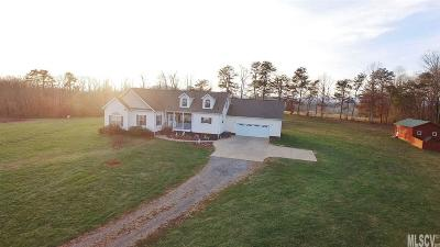 Alexander County, Ashe County, Avery County, Burke County, Caldwell County, Watauga County Single Family Home For Sale: 1292 Hopewell Church Rd