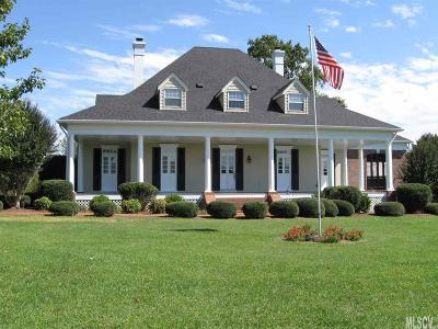 Hickory Single Family Home For Sale: 3674 River Rd