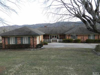 Lenoir Single Family Home For Sale: 2810 Lakeview Dr
