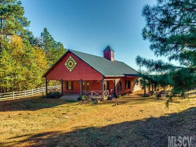 Sherrills Ford Single Family Home New Listing: 3555 Mt Beulah Rd