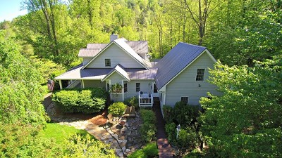 Sylva Single Family Home For Sale: 371 Mountain Forest Estates