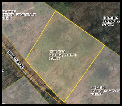 Franklin Residential Lots & Land For Sale: 00 Cedar Cliff Road