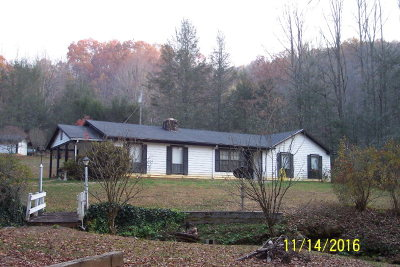 Franklin Single Family Home Pending/Under Contract: 3411 Ruby Mine Road