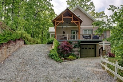 Franklin Single Family Home For Sale: 665 Cadon Gap Rd