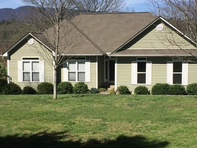 Otto Single Family Home For Sale: 1745 Hickory Knoll Road