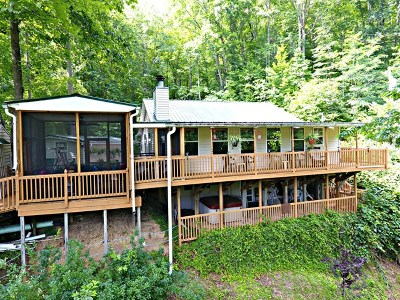 Macon County Single Family Home For Sale: 384 Falling Water Rd
