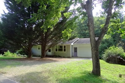 Single Family Home Sold: 1545 Mashburn Branch Road