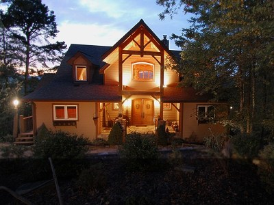 Bryson City Single Family Home For Sale: 204 Sunset View Ridge