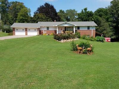 Otto Single Family Home For Sale: 585 Coweeta Church Rd