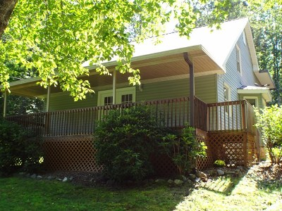Single Family Home For Sale: 26 W. Cowee Woods