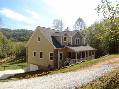 Franklin NC Single Family Home For Sale: $329,900