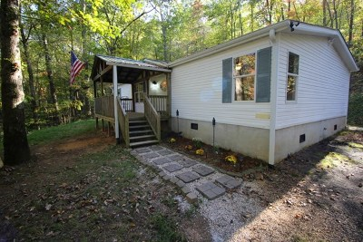 Macon County Single Family Home For Sale: 18 Integrity Mountain Rd