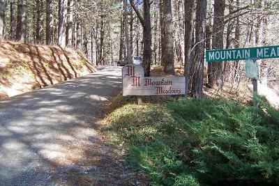Franklin Residential Lots & Land For Sale: 00 Mtn Meadow