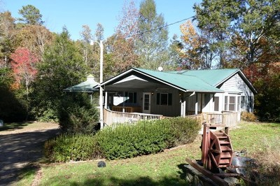 Franklin NC Single Family Home For Sale: $199,500