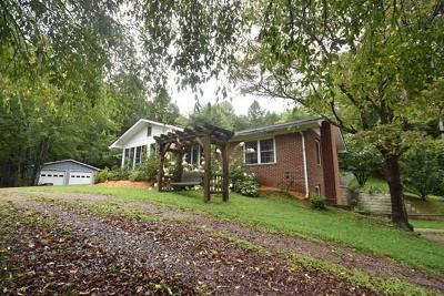 Otto Single Family Home For Sale: 300 Buddy Gap Rd