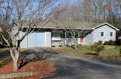 Franklin NC Single Family Home For Sale: $180,000