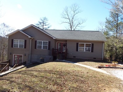 Franklin NC Single Family Home For Sale: $199,900