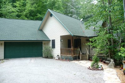 Single Family Home For Sale: 4656 Wayah Rd.