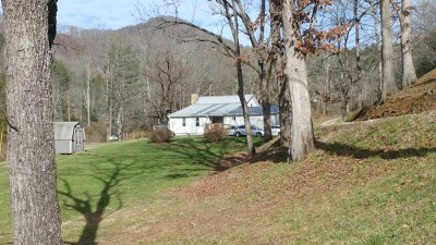 Single Family Home For Sale: 394 Lyle Knob Road