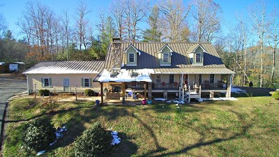 Jackson County Single Family Home For Sale: 410 Breezy Mountain Rd