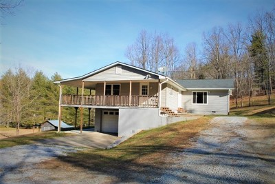 Otto Single Family Home For Sale: 204 Creek Rd