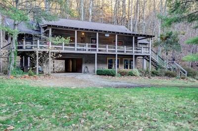 Jackson County Single Family Home For Sale: 1072 Dicks Creek