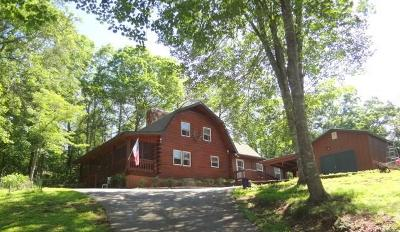 Single Family Home For Sale: 1790 Dowdle Mountain Road