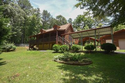 Single Family Home For Sale: 8477 Bryson City Rd.